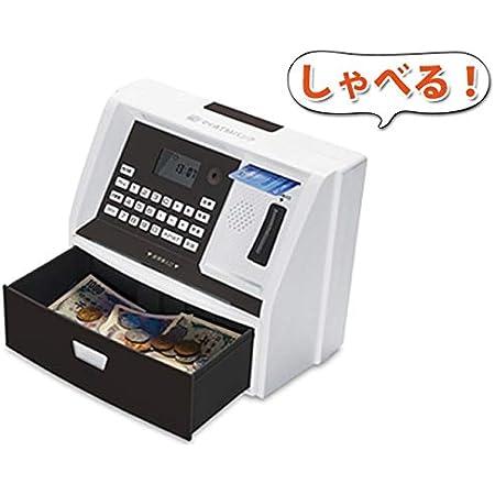 LITHON (ライソン) マイATMバンク ブラック KTAT-004B | 貯金箱 自動 おもしろ | 音声付きで本物のATMそっくり