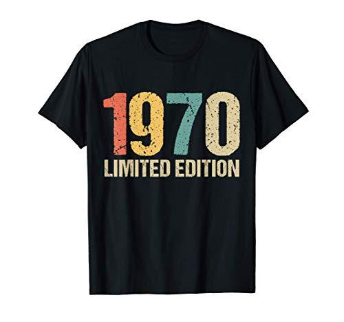 51 Años Cumpleaños Hombre Mujer Regalo Divertido 1970 Camiseta