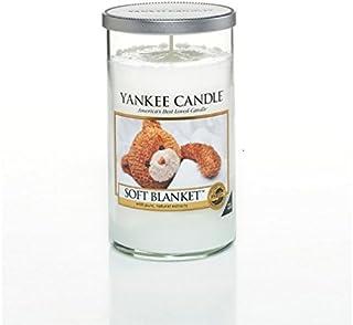 ヤンキーキャンドルメディアピラーキャンドル - ソフト毛布 - Yankee Candles Medium Pillar Candle - Soft Blanket (Yankee Candles) [並行輸入品]