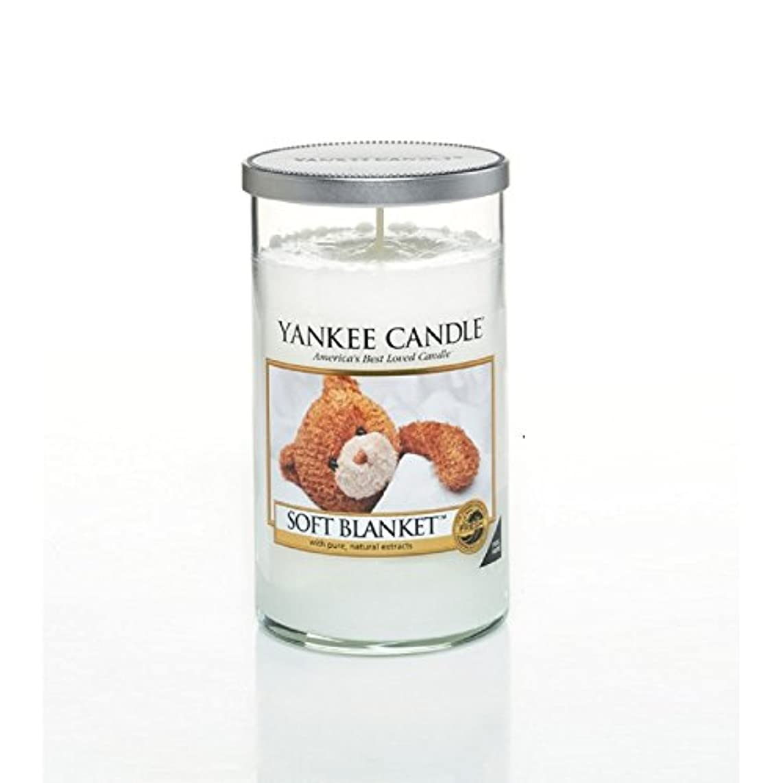 稚魚収束するアヒルYankee Candles Medium Pillar Candle - Soft Blanket (Pack of 6) - ヤンキーキャンドルメディアピラーキャンドル - ソフト毛布 (x6) [並行輸入品]
