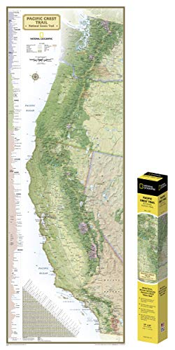 National Geographic Maps: Pacific Crest Trail, Boxed (National Geographic Reference Map)