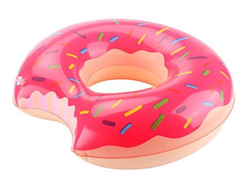 Grand donuts gonflable pour piscine ou plage - Bouée pour adulte