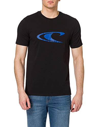 O'Neill Lm Wave T-shirt, Camiseta para Hombre, Negro (9010 Black Out), M
