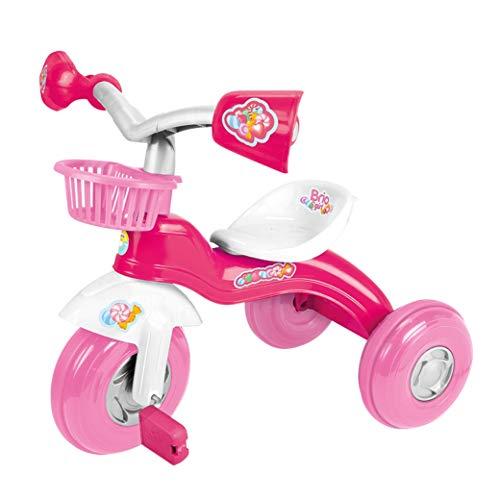 BRIO PETIT ENFANT 3 ROUES POSITION 2 SIÈGE RÉGLABLE ROSE RIDE-ON PÉDALE TRICYCLE - GIRL