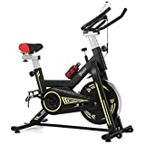Indoor Cycling Bike Stationary, Doufit EB-05 Adjustable Exercise Bike Stationary for Home Use, Quiet...