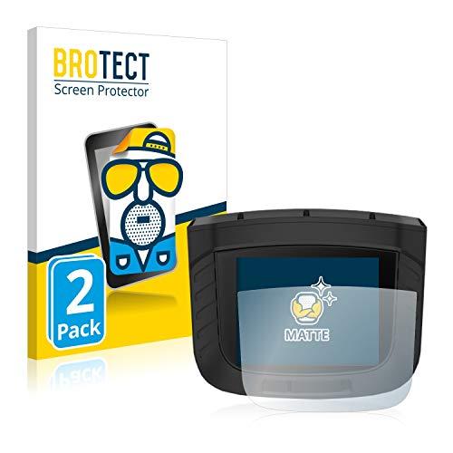 BROTECT Protector Pantalla Anti-Reflejos Compatible con Garmin Xero S1 (2 Unidades) Pelicula Mate Anti-Huellas
