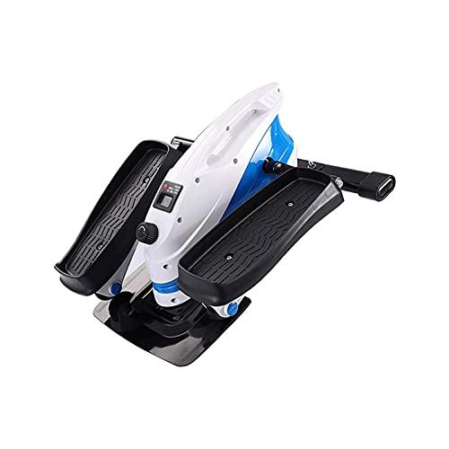 WGLL Stair Stepper, Mini Mini Step Machine Portable Fitness con y LCD Monitor, Equipo de Ejercicio de Ejercicios para el Entrenamiento de Cuerpo Completo, Ejercicio, Escalera Stepping Fitness