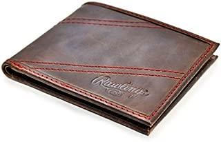 Rawlings Men's Two Strikes Bifold Wallet, Brown, OS
