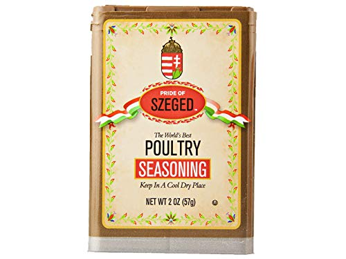 Szeged Poultry Seasoning, 2 oz. container (1 container)
