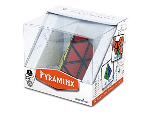 Cayro -Pyraminx - Juguete de ingenio - Desarrollo de Habilidades cognitivas e inteligencias múltiples - Juego para niños y Adultos (R5035)