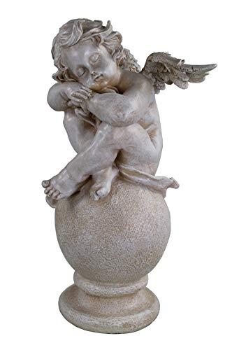 Figura decorativa para jardín (40 cm), diseño de ángel