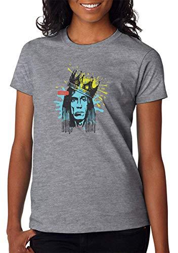 KRIKST Koning Kroon Punk Performer Gezicht Dames T-Shirt