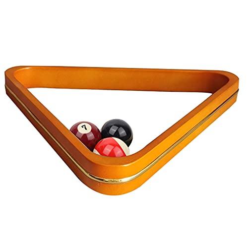 HUWENJUN123 Holz Billard Stativ, Snooker 60 ° Billard Holzständer, 8-Ball Finishing Rack - Billardtisch Zubehör