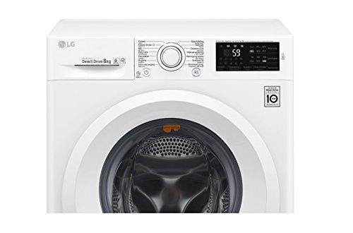 LG F4J5TN3W lavatrice Libera installazione