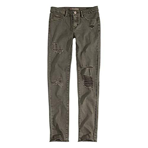 Levi's Mädchen 710 Super Skinny Fit Color Jeans - Grün - 3 Jahre
