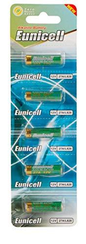 Energy01 Alcaline 27A MN27 Lot de 5 Batteries Piles 12 V sans Mercure, Pack Multi-économie (27A V27A L27A WE27A L828) conçue pour Les télécommandes, Cloches et systèmes de sécurité (Lot de 5 Piles)