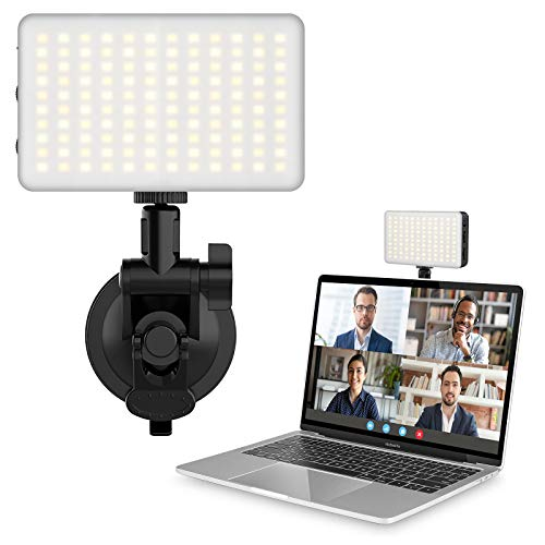 VIJIM Zoom Lighting for Computer, Video Conference Lighting, Laptop Light for Video Conferencing, MacBook Webcam Lamp for Zoom Meetings, Video Calls, Remote Working, Self Broadcasting, Live Streaming