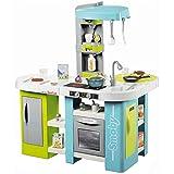 Smoby 311035 Tefal Studio Bubble XL Küche,Spielküche, Kinderküche, Spielzeugküche, für Kinder ab 3 Jahren, Farbe Minze