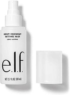 e.l.f. Dewy Coconut Setting Mist, Makeup Setting Spray, Hydrates & Conditions Skin, 2.7 Fl Oz (80mL)