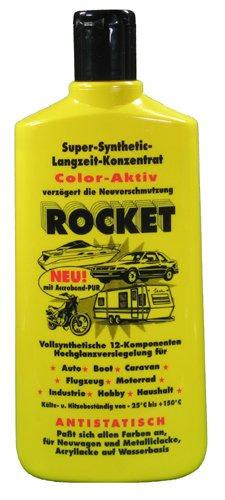 2 x 500ml Rocket Politur Autopolitur Hochglanzversiegelung für Auto Neu