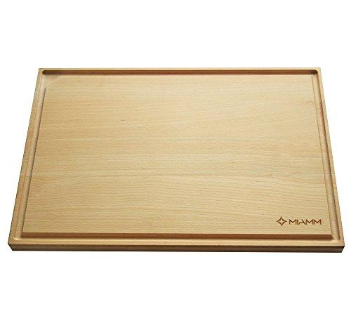 Planche à découper en bois avec...