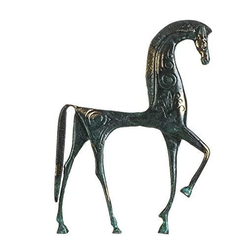 Pegasus - Statua di cavallo alato in bronzo massiccio antico greco fatto a mano museo replica 9,5 pollici
