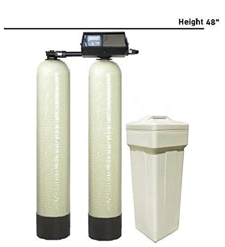 DuraWater USA Fleck 9100SXT Water Large Homes & Light Commercial Softening Ships Loaded, 40X14X48 inches, Almond