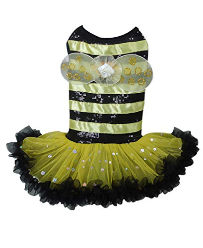 Bumble Bee Costume Dress for Dogs