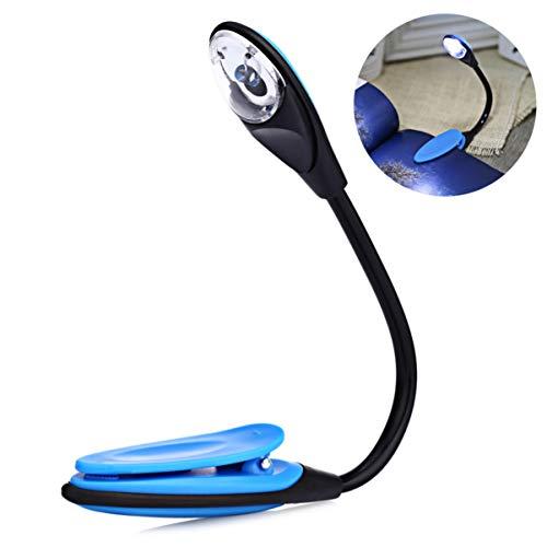 Mobestech 1 Stück Licht Led Lampe Leselampe LED Buch Licht Laptop Stehen Lampe Praktische Lampen Langlebiges Licht für Office Home Wohnzimmer