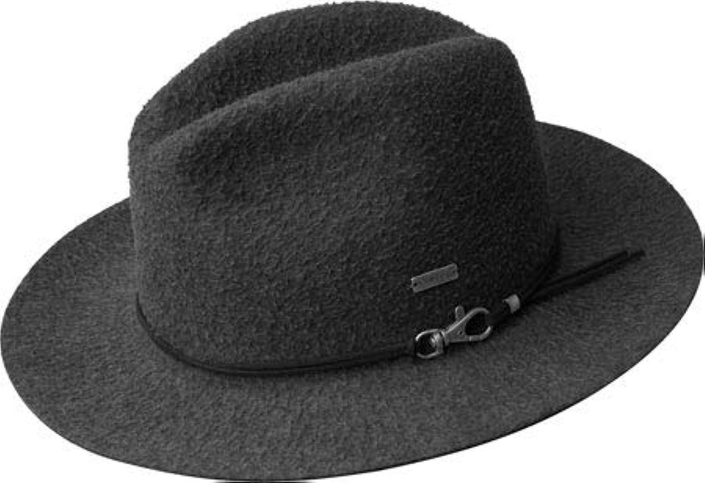 カンゴール ハット 帽子 メンズ Snap Mylo Fedora Dark Flannel