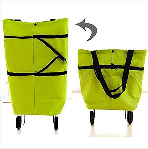 GWCUU Einkaufstasche für Supermarkt, tragbar, Oxford-Gewebe, Unisex, 24 l