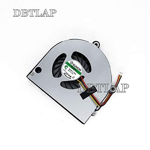 DBTLAP Ventilador de la CPU del Ordenador