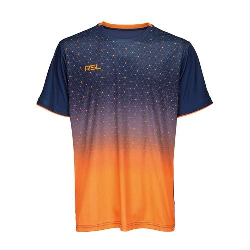 RSL Men Cirium T-Shirt blau/orange - orange/blau, M