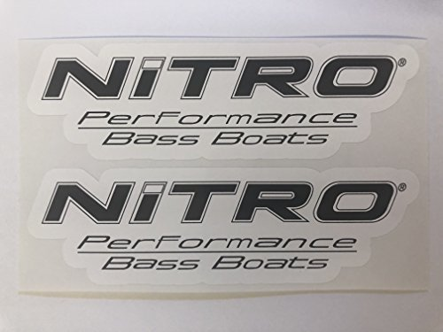 2 Nitro Performance Bass Boats Decals