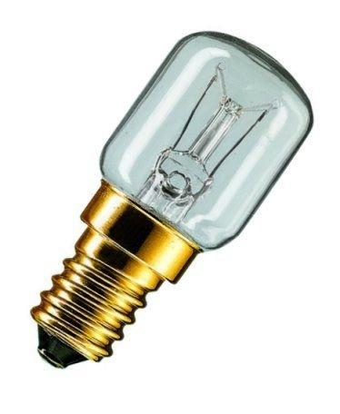 Kühl-/Gefrierschrank-Leuchtmittel, 20 x 50 mm, 15 W, SES, transparent
