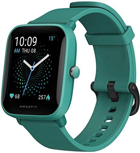 """Amazfit Bip U Pro Smart Watch Reloj Inteligente con GPS Incorporado 60+ Modos Deportivos 5 ATM Fitness Tracker Oxígeno Sangre Frecuencia cardíaca Monitor de sueño y estrés 1.43 \""""Pantalla táctil"""