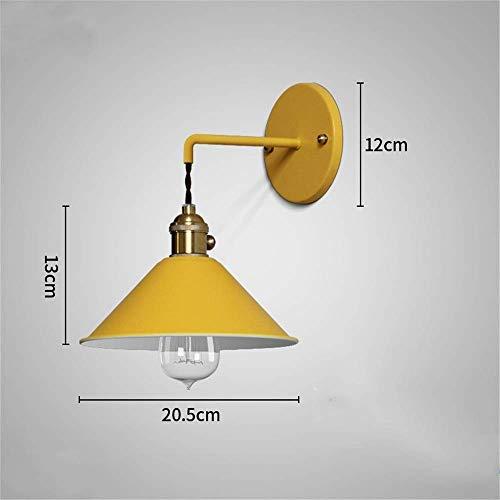 Wandstaal Creatieve moderne woonkamer trap Aisle slaapkamer nacht macarons zwart paraplu wandlamp verlichting metaal wandverlichting