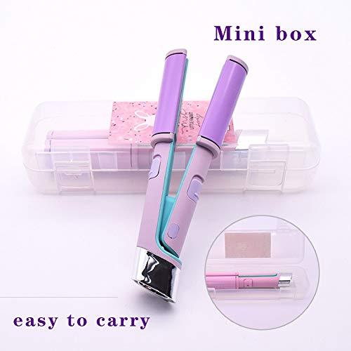 GTYHJUIK Mini 2-in-1 USB-poort professionele stijltang, krulspeler, constante temperatuur-design, gemakkelijk te transporteren, 110 – 240 V