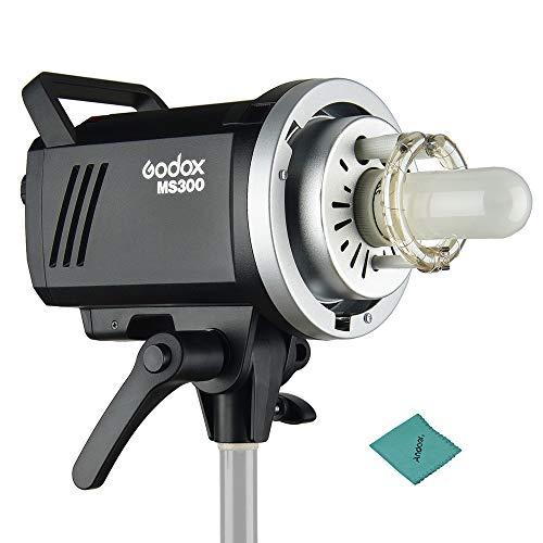 GODOX MS300 スタジオ フラッシュ ストロボ モノライト 300W 内蔵Godox 2.4GワイヤレスXシステム GN58 5600...