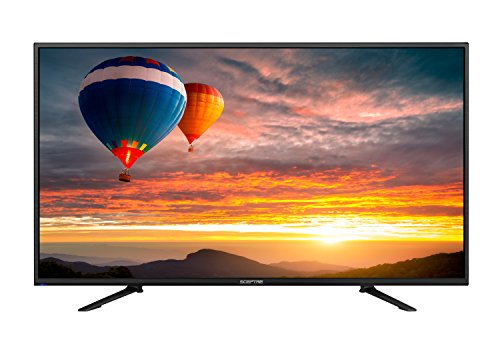 "Sceptre 43"" 4K UHD LED TV, HDMI 2.0 HDCP 2.2 MEMC 120, Metal Black 2018 (U438CV-UMC)"