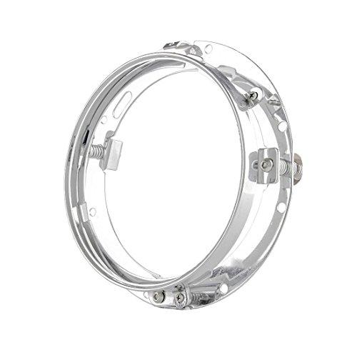 17,8 cm 7 Zoll Halterung Ring für 7Zoll LED Projektor Kopf Licht für Harley Davidson Motorrad (chrom)