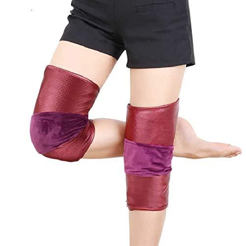 Auoeer Calefacción eléctrica Almohadillas de Rodilla infrarrojo lejano Multifunción Masaje de la Rodilla Masaje de la Artritis Reumatismo Ancianos Calefacción de la Pierna de frío