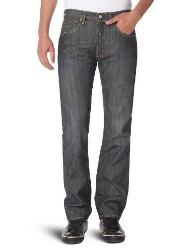 Levi'S 501 Original Straight, Jeans Uomo, Blu (Rigid Scraped 0033), W31/L32