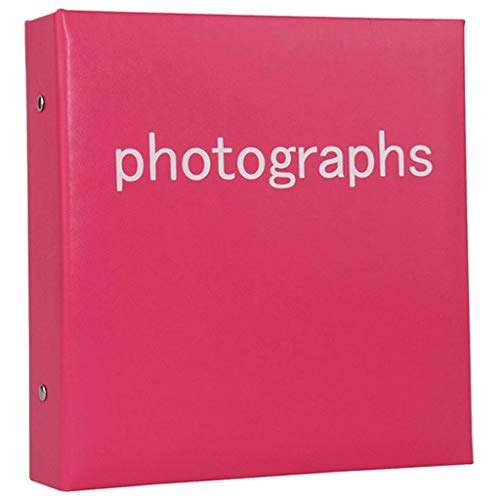 XYSQWZ Pocket Album Foto, Fotoalbum, Mit Schlitzseiten, 4x6 '' 200 Fotos, Minimalistische Familienfotosammlung, PU-Einband, Umweltfreundlicher Kern, Foto-Tourismus-Liebe (Farbe: LILA)