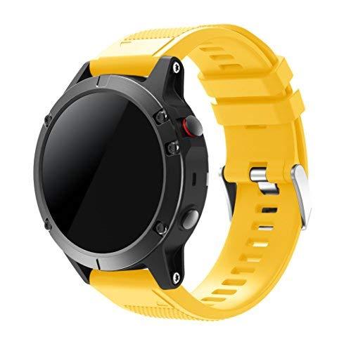 SUPREMO Garmin Fenix 5 Watch Band, ajuste rápido correa de reloj de...