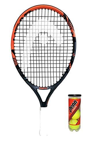 Head Radical 48,26 cm Junior Raqueta tenis pelotas £45 + 3