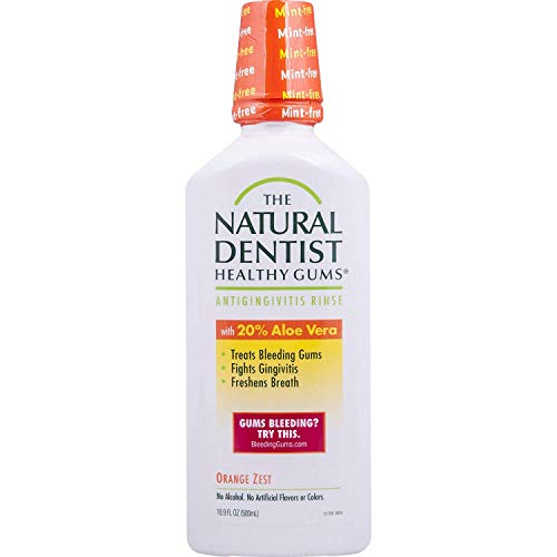 Natural Dentist Healthy Gums Daily Oral Rinse Orange 500 ml (Mundspülungen)