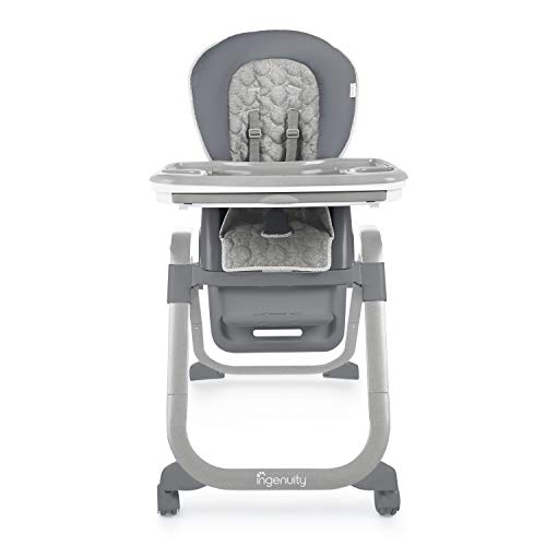 Ingenuity SmartServe 4-in-1 High Chair with Swing Out Tray – Connolly – High Chair, Toddler Chair, and Booster