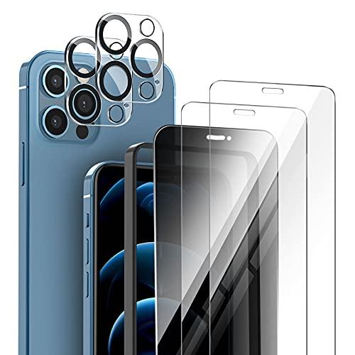 AROYI Protector de Privacidad de Pantalla Compatible con iPhone 12 Pro Max...