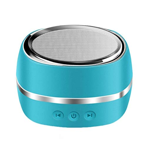 Bradoner Soundbar Blauer Mini-tragbarer USB-WLAN-Bluetooth-Lautsprecher...